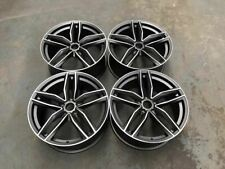 "21"" RS6 C Style Alloy Wheels - Satin Gun Metal Machined Audi A6 A8 Saloon Avant"