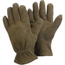 Briers Washable Leather LADIES Gardening Gloves GREEN (CHOOSE SIZE)