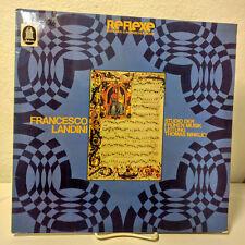 """Francesco Landini, Studio Der Fruhen Musik, EMI Electrola 33"""" LP, 1 C 063-30 11"""