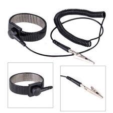 Anti-static ESD Adjustable Strap Grounding Bracelet Black Wrist Band Nice LA3