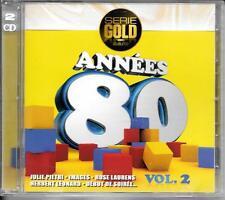 CD COMPIL 24 TITRES--ANNEES 80 VOL 2--PIETRI/IMAGES/LAURENS/LEONARD/ROUSSOS