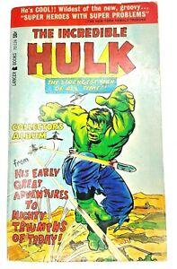 The Incredible Hulk Collector's Album VTG 1966 Lancer 72-124 Lee Ditko Kirby