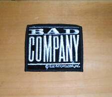 BAD COMPANY Vintage Embroidered Patch  New Condition
