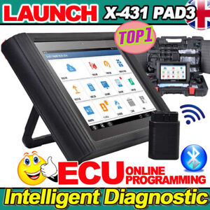 2021 LAUNCH X431 PAD3 III PRO ALL System Diagnostic Scanner Tool ECU Programming