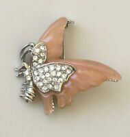 Unique vintage   butterfly  brooch pin