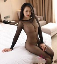 Women Body stockings Open Crotch Bodysuit Erotic Leotard Costumes Sexy Bodyhose