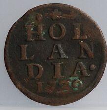 Holland - duit 1739 -  KM# 80