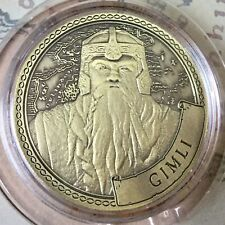Gimli Lord Of The Rings Limited Edition 38mm Collectors Coin In Capsule