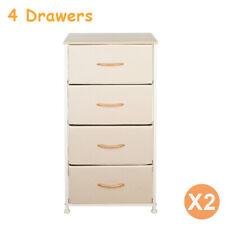 Eclife 4 Drawer Storage Organizer Dresser