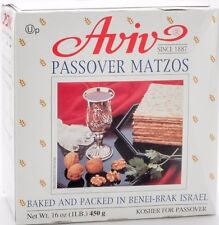 unleavened bread Matzos Kosher Aviv Passover 450 grams high qaulity kosher food
