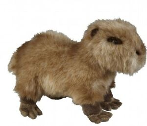 RAVENSDEN SOFT TOY CAPYBARA 28CM - FRS004CB CUDDLY TEDDY PLUSH CUTE FLUFFY