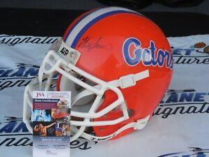 Steve Spurrier signed Florida UF Gators full size authentic helmet JSA COA