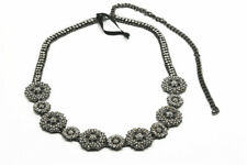 New ZARA Crystal Flower Collar Necklace Gift Fashion Women Party Holiday Jewelry
