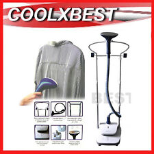 2000w GARMENT STEAMER STEAM CLOTHES CURTAIN 2.4L TANK 3 STEAM SETTINGS RFB