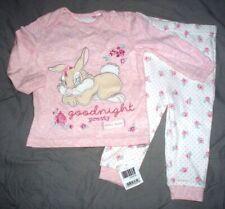 pyjama coton disney  miss bunny amie de panpan taille 6-9  mois neuf etiqueté *
