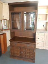 solid wood display unit display cabinet vintage shabby chic quality