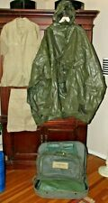 Vietnam~Military Air Force~Suitcase~Bag~Flight suit~Rain Poncho~Documents