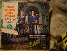 VINCE MARTIN & FRED NEIL Tear Down The Walls LP/Stereo/1964 US/Folk/Sundazed Ed.