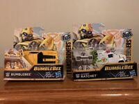 "Transformers Set Of 5"" Energon Igniters Bumblebee & Ratchet E0759 / E3999 Hasbro"
