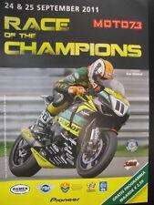 SMA Moto73 Race of the Champions 24 & 25 september 2011 TT Circuit Assen