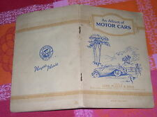 ALBUM FIGURINE MOTOR CARS - COMPLETO - AUTOMOBILI - JOHN PLAYER & SONS - RARO