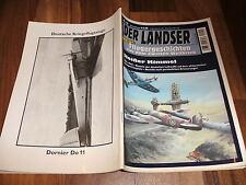 LANDSER FLIEGERGESCHICHTEN  # 10 -- HEIßER HIMMEL / deutsche Luftwaffe in Afrika