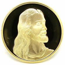Jesus The Last Supper Gold Plated Commemorative Art Collection Coin Collectible