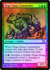 Siege-Gang Commander FOIL 10th Edition PLD-SP Red Rare MAGIC MTG CARD ABUGames