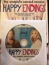 Happy Endings - Season 2, Disc 2 REPLACEMENT DISC (not full season)