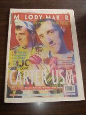 MELODY MAKER 1991 JUNE 15 CARTER PIXIES INSPIRAL CARPETS STEREO MCS KRAFTWERK