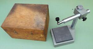 Kleinmesstisch 125x125 Messtisch Messstativ Feinmeßtisch Meßuhrhalter Meßständer