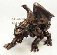 LARGE STEAMPUNK ANTIQUE MECHANICAL DRAGON STATUE VICTORIAN SCI FI DECOR