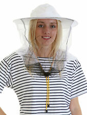 Beekeeping White Round Veil and Hat