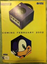 Sonic the Hedgehog Gamecube Poster Ad Print