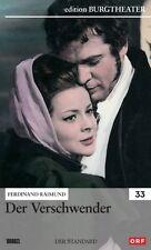 DER VERSCHWENDER (Josef Meinrad, Christiane Hörbiger) NEU+OVP Burgtheater 1963