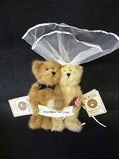 Boyds Bear MR & MRS BLESSED Plush Stuffed Animal GOD BLESS OUR LOVE Bride Groom