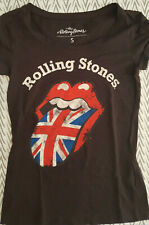 THE ROLLING STONES - RARE OFFICIAL T-SHIRT S SIZE BY BRAVADO / JAGGER - RICHARDS