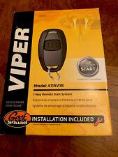 New Viper 4115V1 One-Way Car Remote Start Keyless Entry
