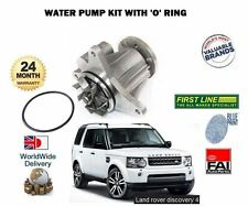 FOR LAND ROVER DISCOVERY 4 4x4 3.0TD LA 30DDTX 2009--> NEW WATER PUMP KIT