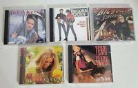 Lot of 5 Country Music CDs Brooks & Dunn Terri Clark more