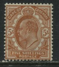 Cape of Good Hope KEVII 1902 5/ orange mint o.g.