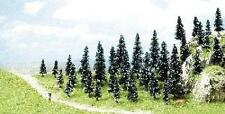Busch 6592 NEW N 35 BUDGET FIR TREES WITH BASE