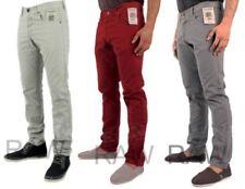 Enzo Coloured Skinny, Slim Jeans for Men