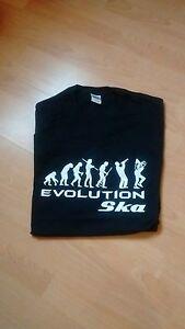 evolution of ska t shirt