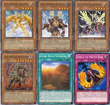 Phantom Beast Complete Deck - Cross-Wing - Thunder-Pegasus - Yugioh- 47 Cards
