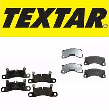 Front & Rear Brake Pad Set Porsche Cayenne Silver Caliper or Black Textar