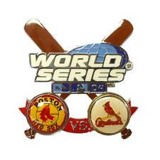 Boston Red Sox vs Cardinals 2004 World Series Champions Souvenir Pin