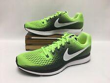 Nike Air Zoom Pegasus 34 Running Shoes Ghost Green White 880555-300 Men's 12.5