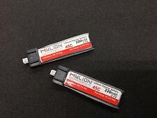 1pc 220mAh 3.7V 45C Li-Polymer Lipo Battery Molex52001 Connector MY001-220-45