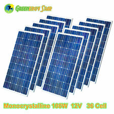 12V 1.5W 95 Watt 100W 400W Mono 21V Solar Panel For 12V Car Boat Home Roof